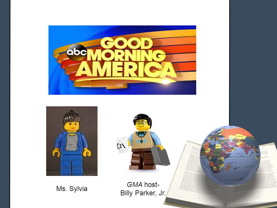 Ms. Sylvia GMA host- Billy Parker, Jr.