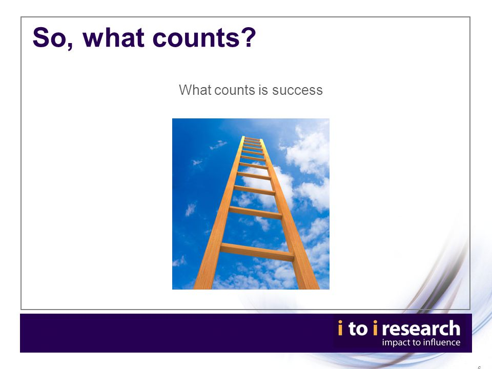 Thank you and questions Claire Spencer FCIPR, i to i research limited DD: +44 (0) 203 178 2162 Mob: +44 (0) 7786 543 506 email: claire.spencer@itoiresearch.com @claireyscherubs