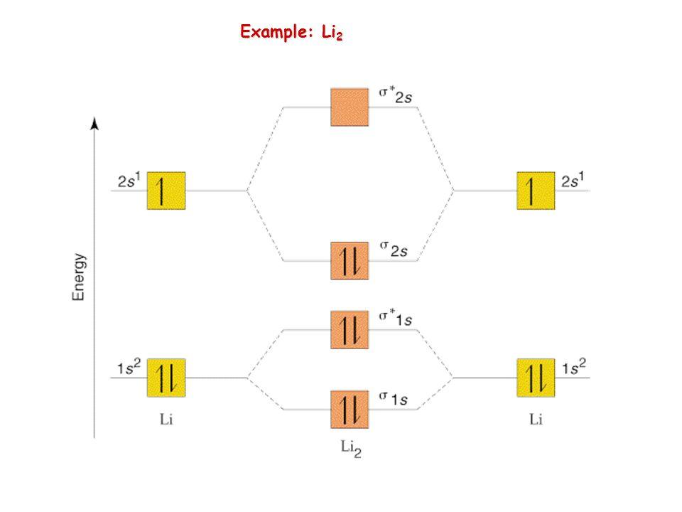 Example: Li 2