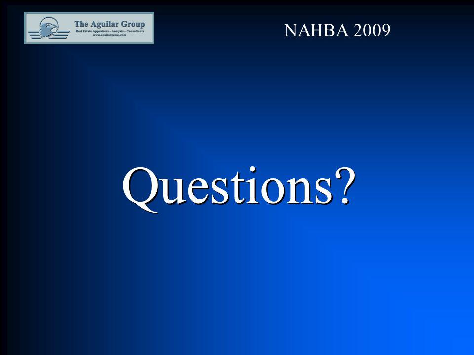Questions? NAHBA 2009