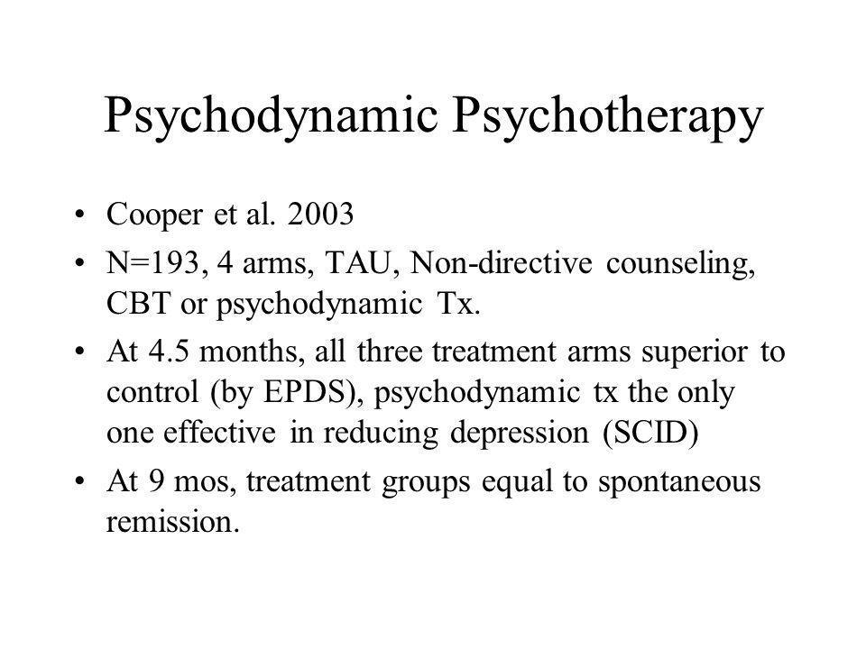 Psychodynamic Psychotherapy Cooper et al.