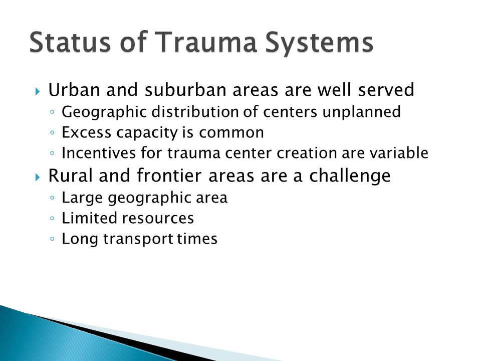 Trauma Center Coverage