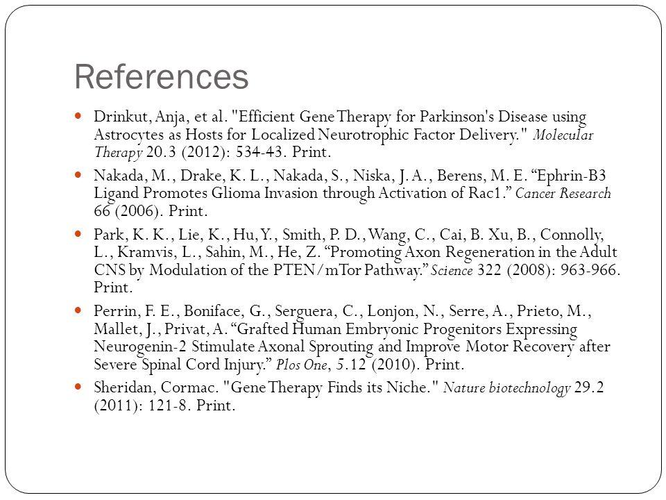 References Drinkut, Anja, et al.