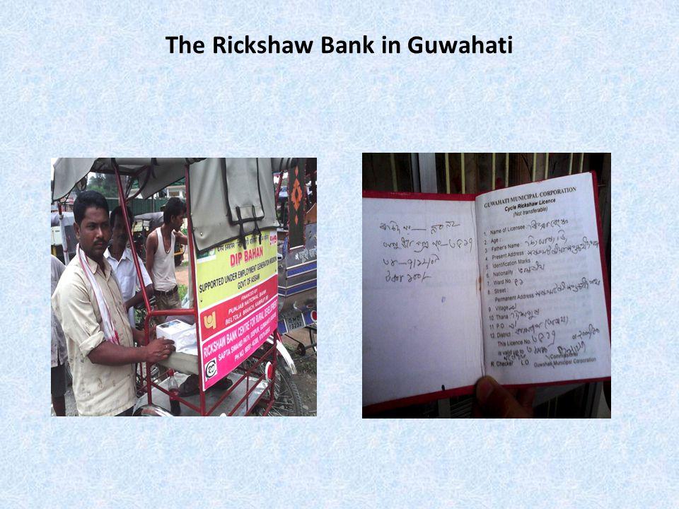 The Rickshaw Bank in Guwahati