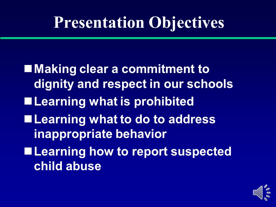 Preventing Sexual Harassment & Reporting Child Abuse Granby Public Schools 2014-2015