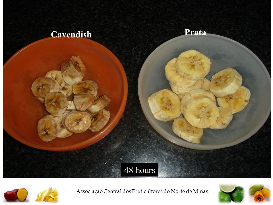  Associação Central dos Fruticultores do Norte de Minas Cavendish Prata 48 hours