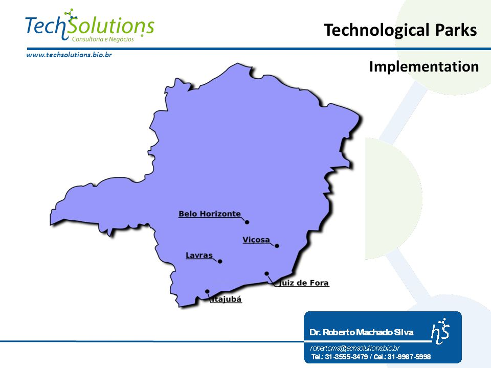 www.techsolutions.bio.br Technological Parks Implementation