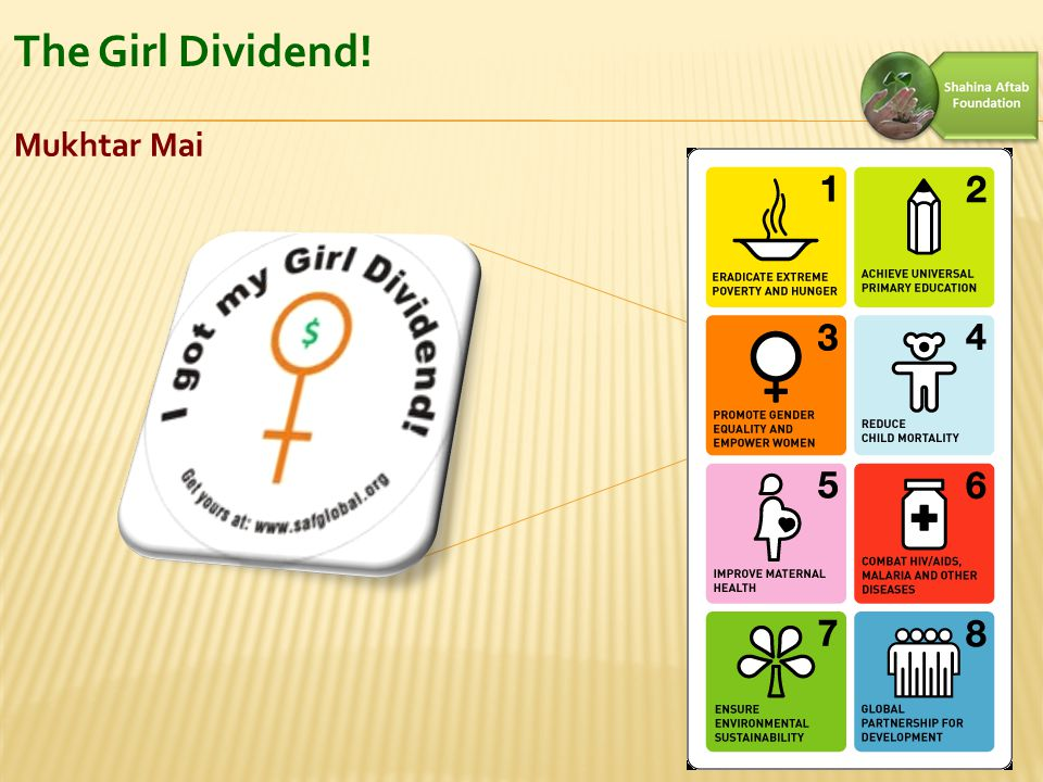 The Girl Dividend! Mukhtar Mai 4
