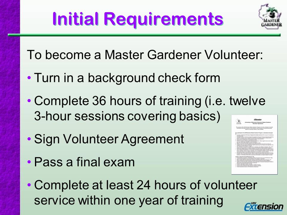 Volunteer Hours Why record your hours? Accountability Program justification Individual recognition