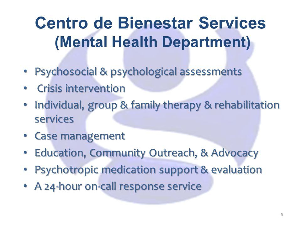 Overview of Centro's Programs Early Childhood Mental Health Family & Children Adult/Older Adult Adult - Full Service Partnership - FSP Asian Pacific Youth Program Cambodian Cultural Specific Services Learning Together Initiative (LTI) for Cambodian Families System of Care Juvenile Probation Department Therapeutic Behavioral Services Family Enrichment Program Expanded Differential Response Family Strength-Based Services Intensive Up-Front Parent Skill Building Services Superior Court Initiative Dual Diagnosis Programs: CalWORKs, Parolee Re-Entry Criminal Justice Programs – FSP California Department Correctional Rehabilitation (CDCR) 7