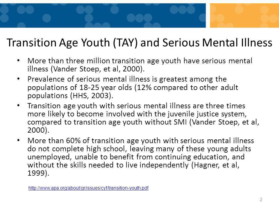The MH/Transition 'Twins' While Special Ed focuses on MH in Transitions....