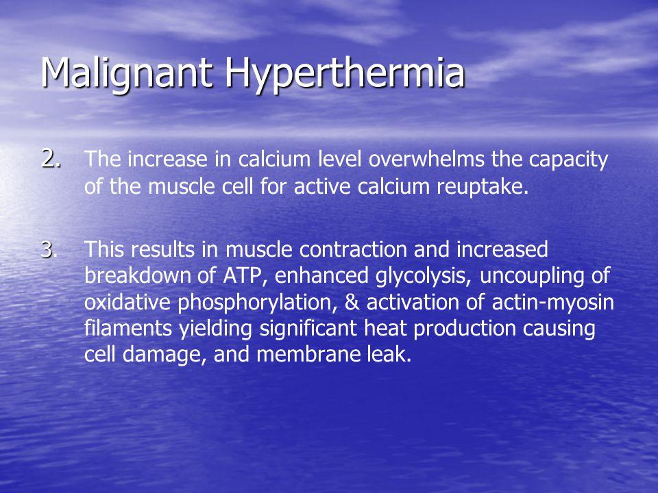 Malignant Hyperthermia 2.2.