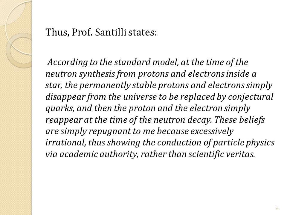 Thus, Prof.
