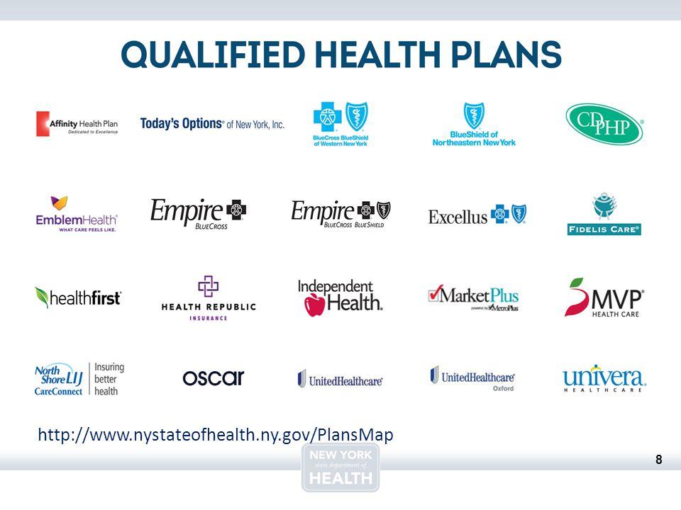 8 http://www.nystateofhealth.ny.gov/PlansMap