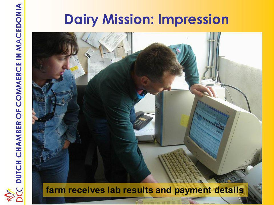 DUTCH CHAMBER OF COMMERCE IN MACEDONIA Dairy Mission: Impression do-it-yourself artificial insemination