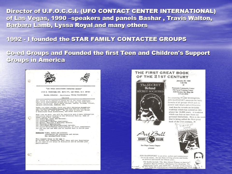 Director of U.F.O.C.C.I.