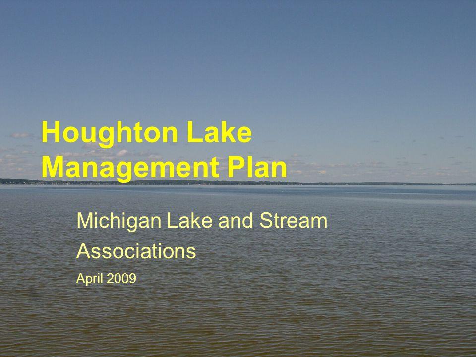 Houghton Lake Management Plan Michigan Lake and Stream Associations April 2009