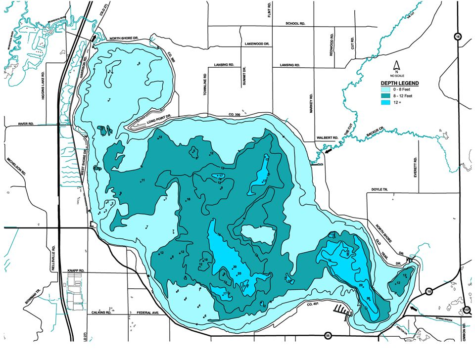 Study Findings 10,800 acres of milfoil in 2001 Common or dense in 5,300 acres 21 other plants also Milfoil most abundant