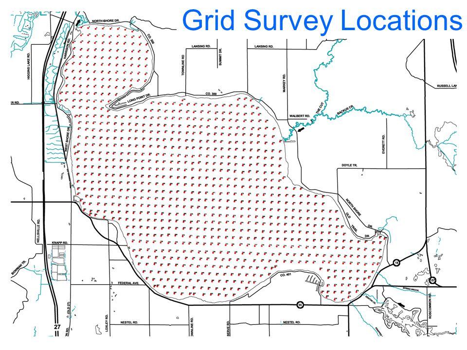 Plant Survey Sites Grid Survey Locations