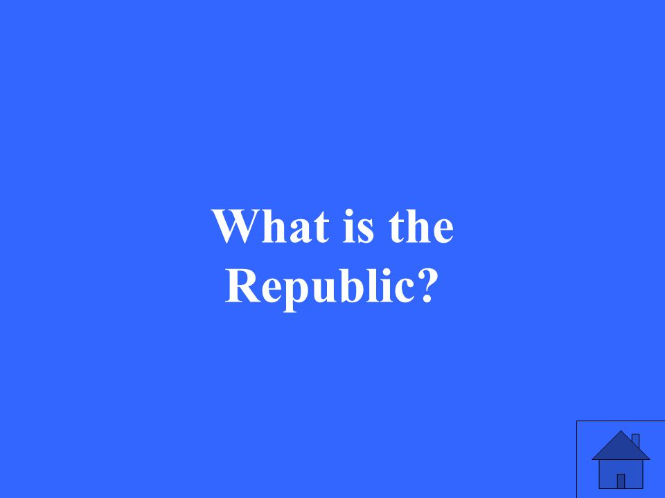 35 What is the Republic?
