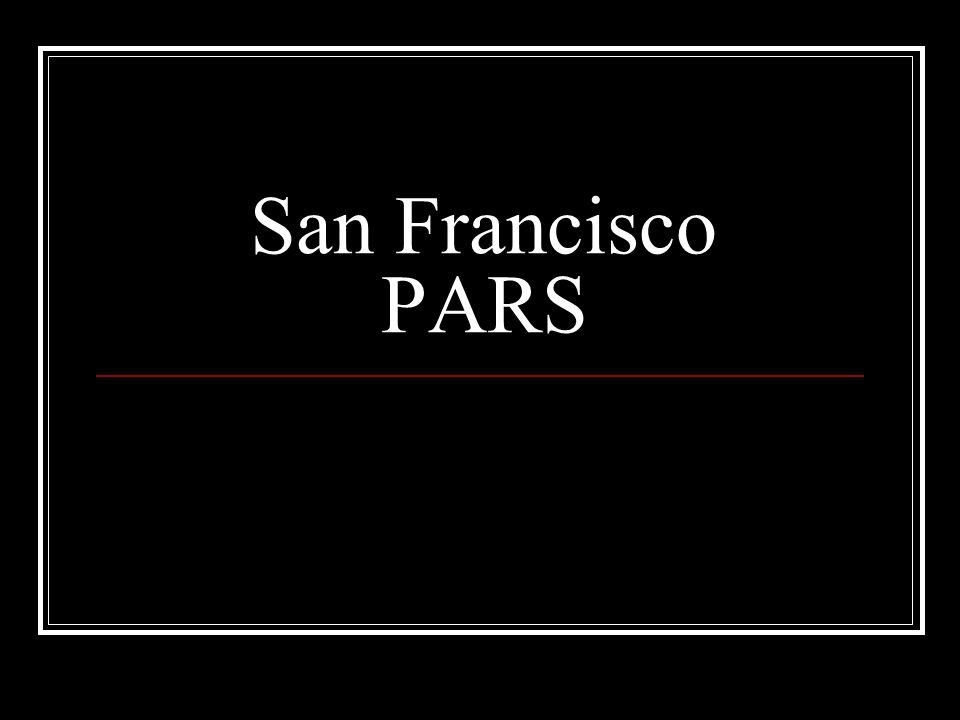 San Francisco PARS