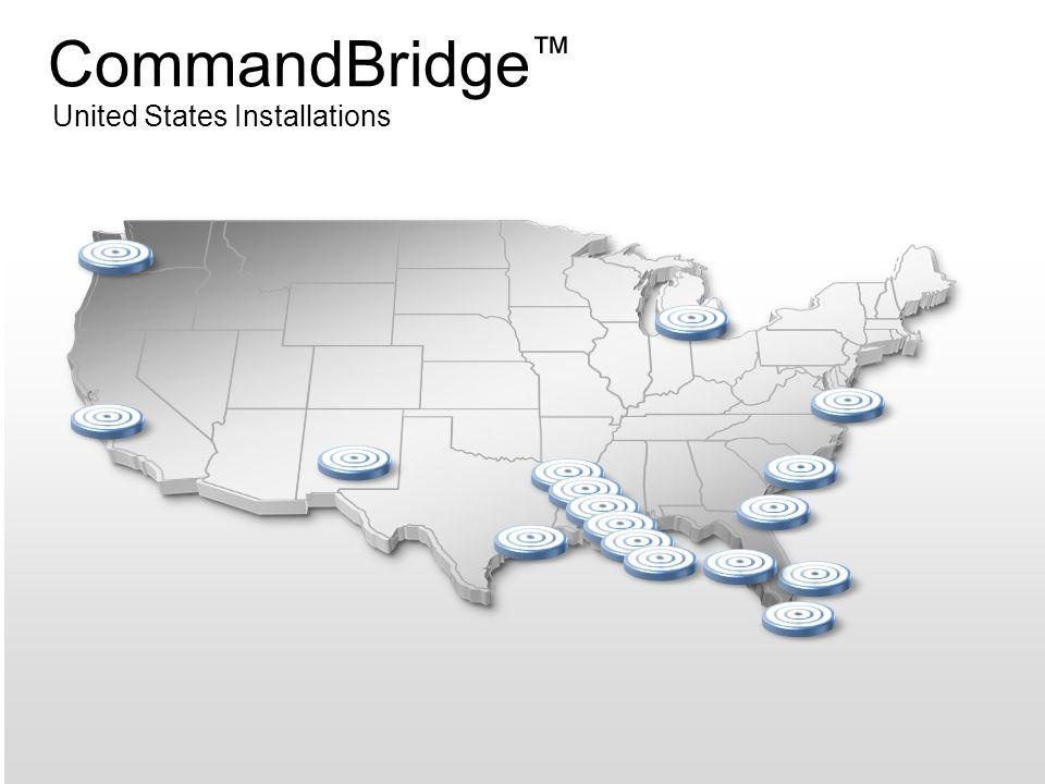 CommandBridge ™ United States Installations