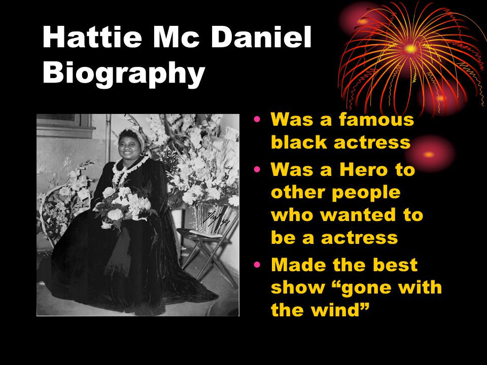 Hattie Mc Daniel Quote Hattie hates nobody