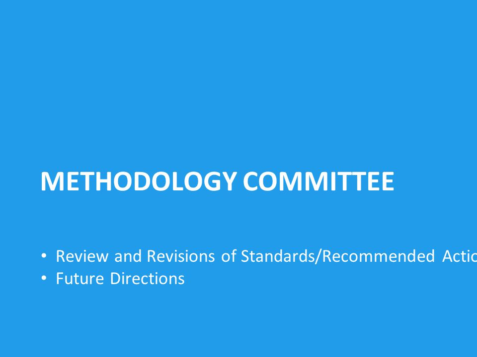 14 PCORI FUNDING ANNOUNCEMENT APPLICATIONS 483 applications received Review process underway ~ 100 awards expected in December 2012 Review and Revisions of Standards/Recommended Actions Future Directions METHODOLOGY COMMITTEE