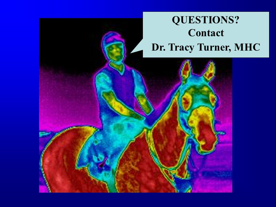 QUESTIONS Contact Dr. Tracy Turner, MHC