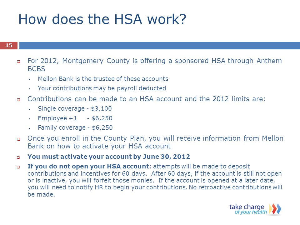 How does the HSA work.