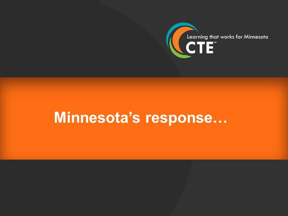 Minnesota's response…