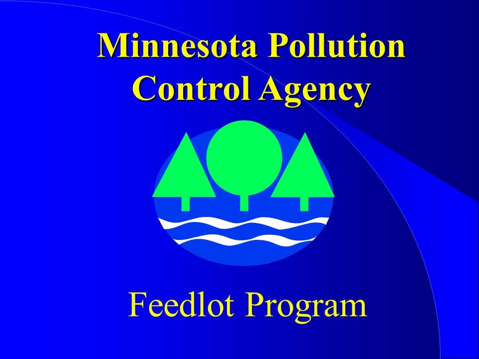 Minnesota Pollution Control Agency Feedlot Program