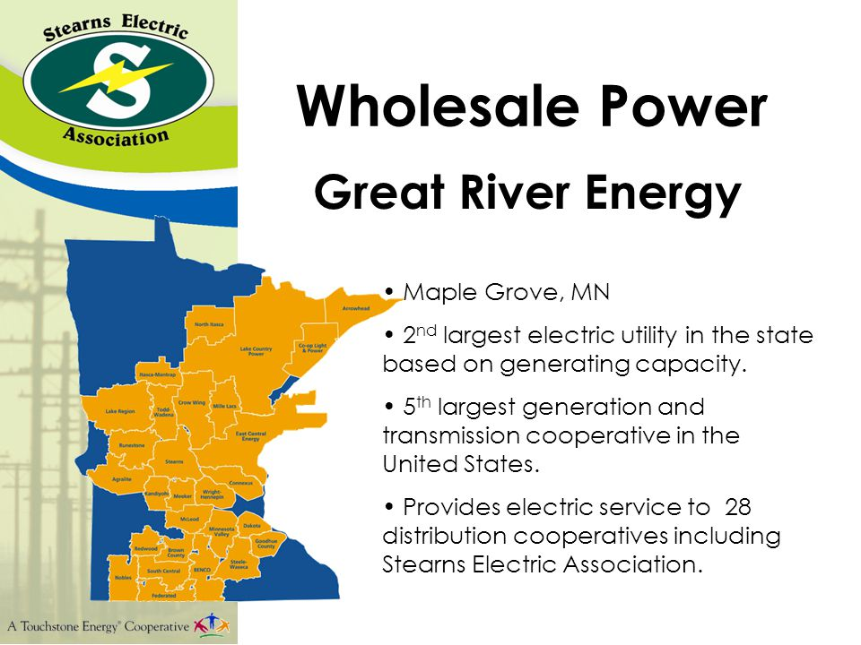 Wholesale Power Western Area Power Administration Hydroelectric Power 15 western state region An agency of the U.S.