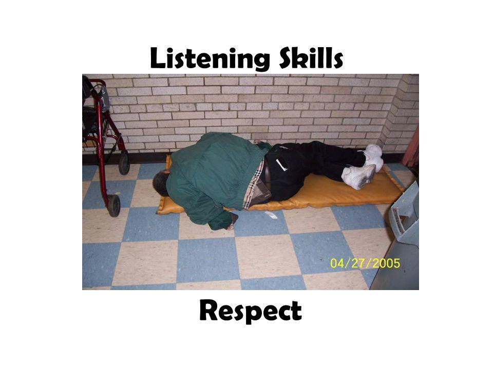 Listening Skills Respect
