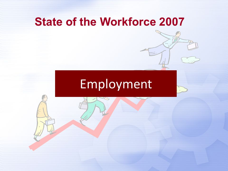 Income Disparity State of the Workforce 2007