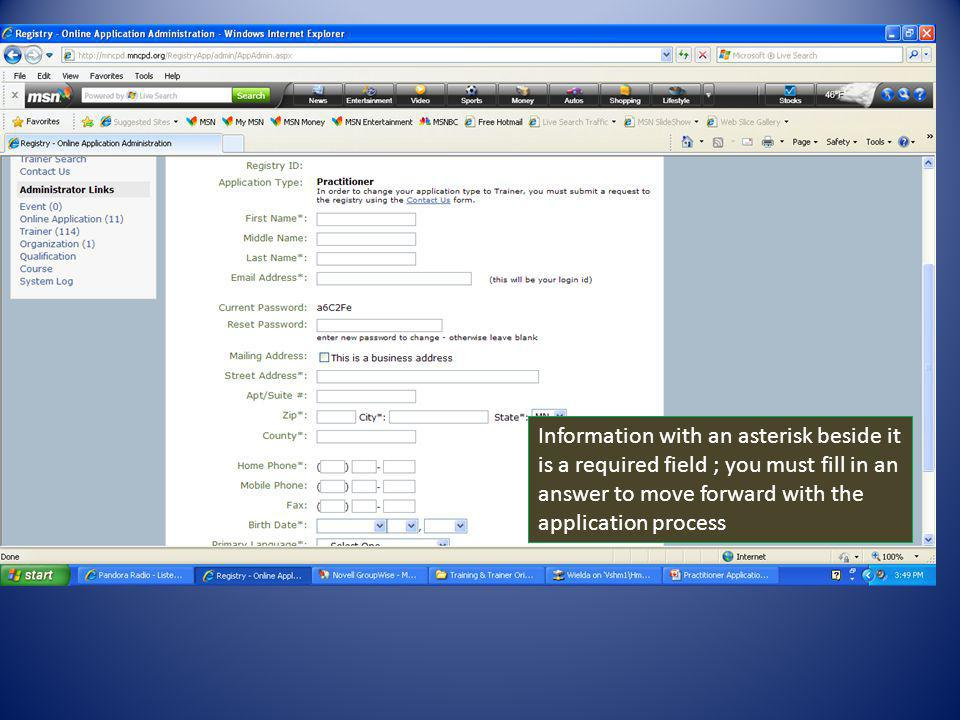 The Registry requires you to submit official transcripts from all higher education institutes.