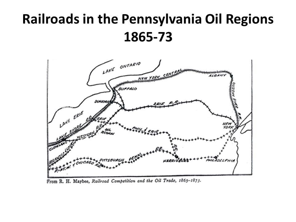 Railroads in the Pennsylvania Oil Regions 1865-73