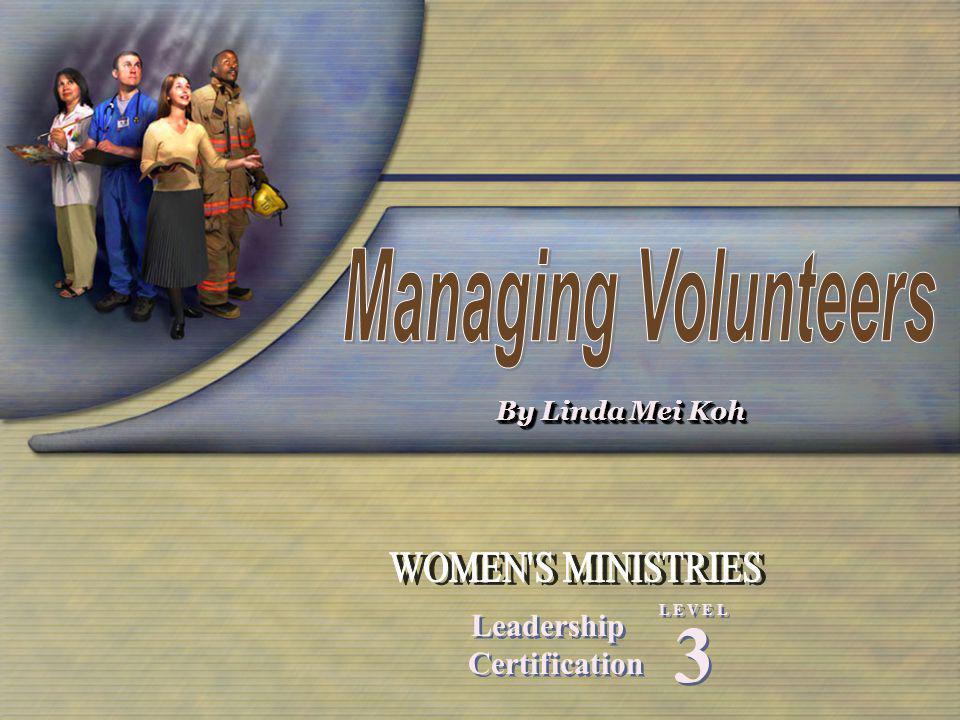 By Linda Mei Koh Leadership Certification Leadership Certification 3 3 L E V E L