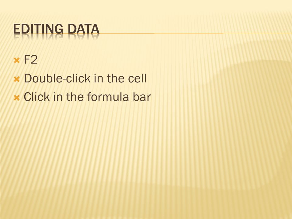 1.Go to the cell where you want the answer 2. Just adding, click on the Sum button 3.