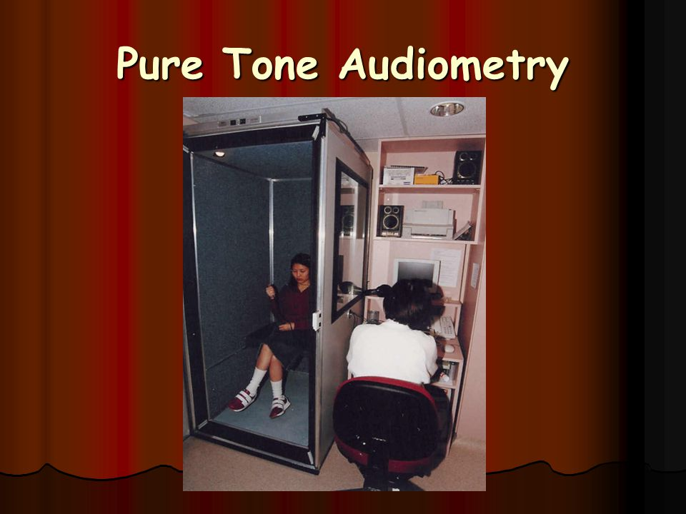 Pure Tone Audiometry