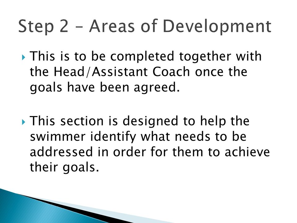  This is to be completed together with the Head/Assistant Coach after the target meet has taken place.