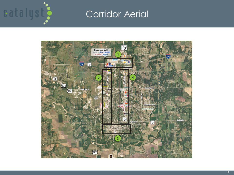 9 Corridor Aerial