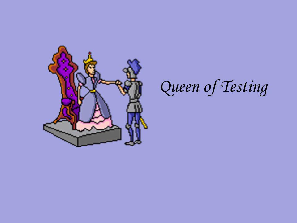 Queen of Testing