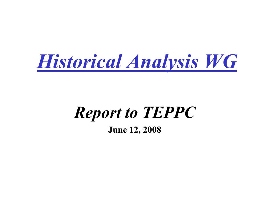 Overview 1.Historical Path Flow Database 2.Historical Schedule and ATC Database