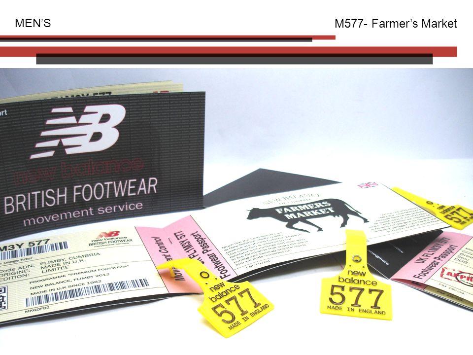 MEN'S M577- Farmer's Market