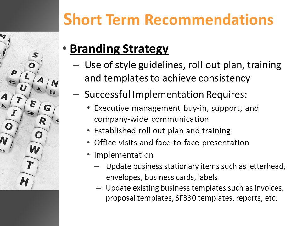  Company Goals Board of Directors, Long Range Planning, CSG's, Regional Office/Facility   