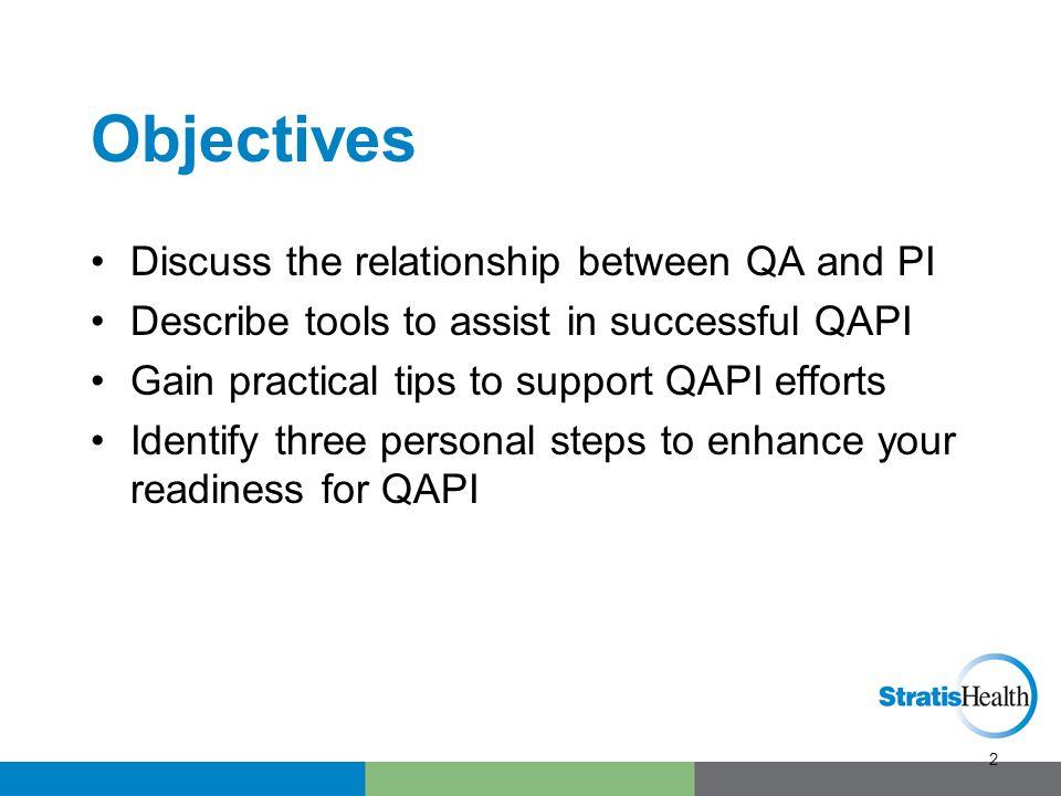 What is QAPI.