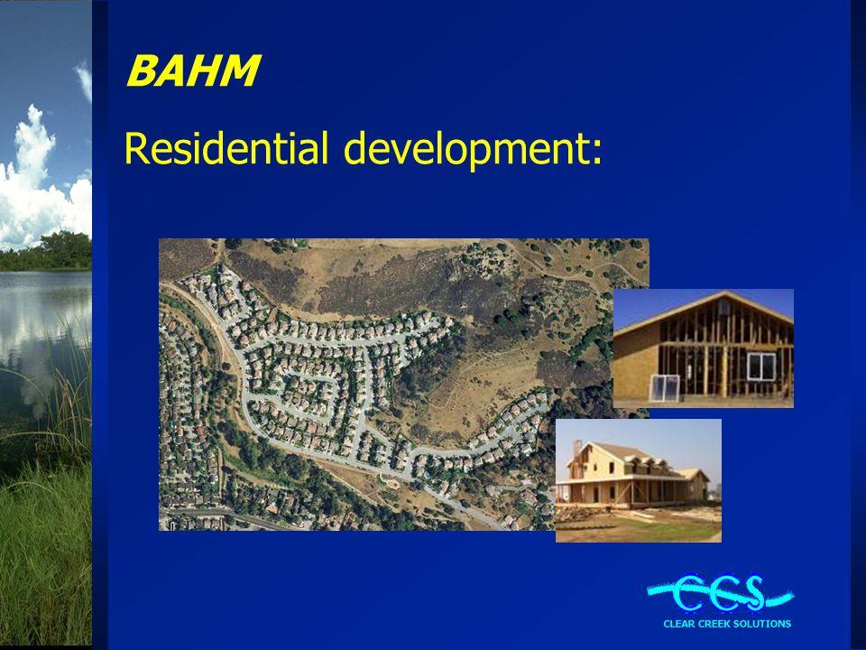 BAHM Residential development: