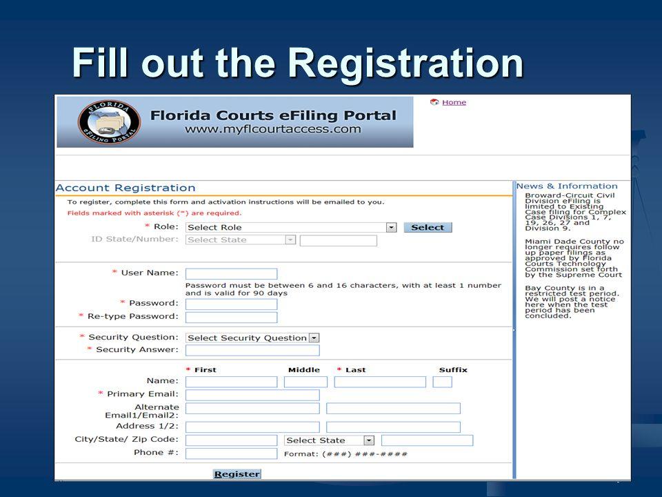 18 Full eFiling (Civil) New Case – Select SubType