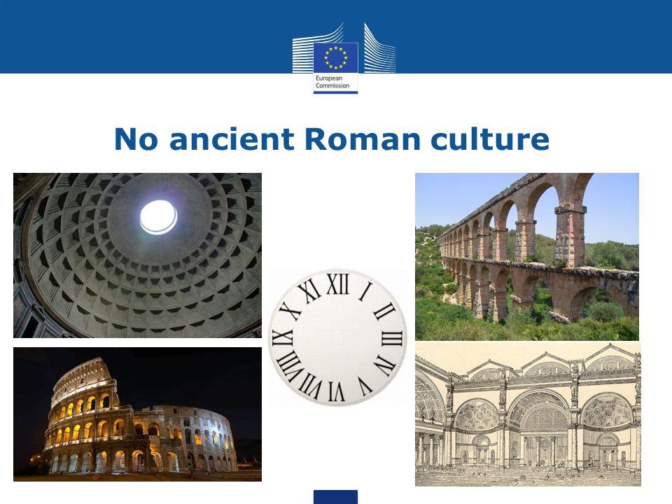 No ancient Roman culture